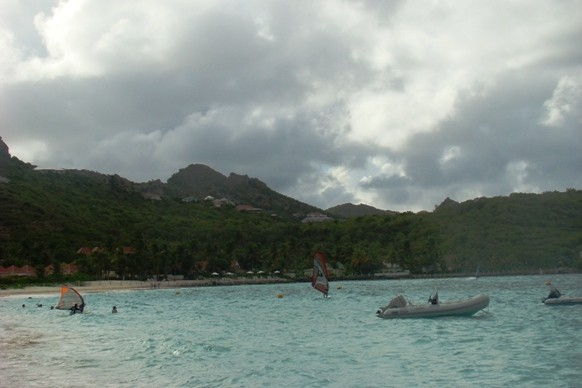 The Beach at Eden Rock