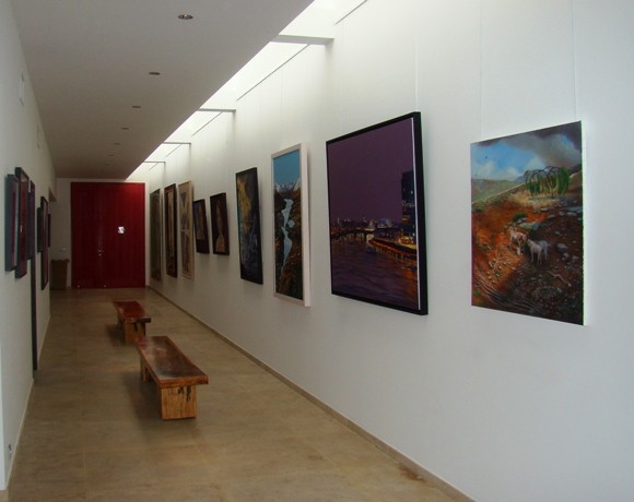 Art Gallery at Villa Nina, Eden Rock