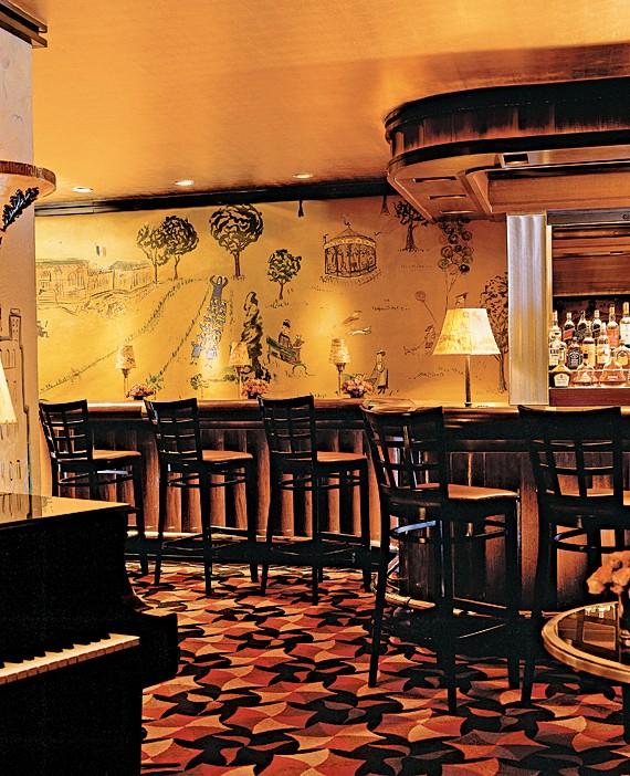 Bemelmans Bar, Carlyle Hotel, NYC