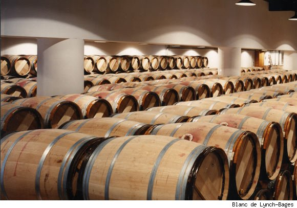 Lynch-Bages Wine Barrels