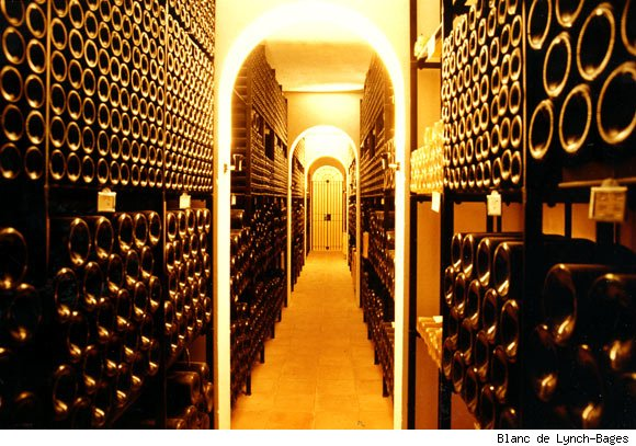 A Lynch-Bages Wine Cave