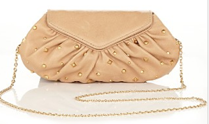 Laura Merkn Diana Studded Lambskin Mini Bag