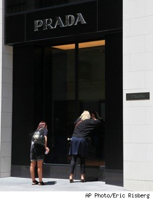 prada store