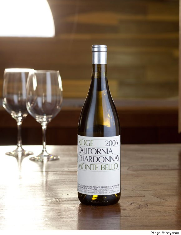 Ridge Vineyards Monte Bello Chardonnay