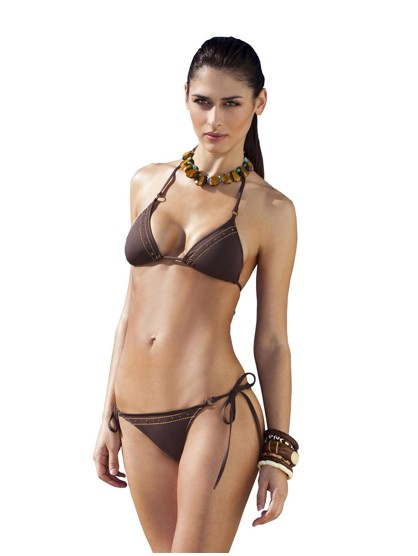 Running Stitch String Bikini