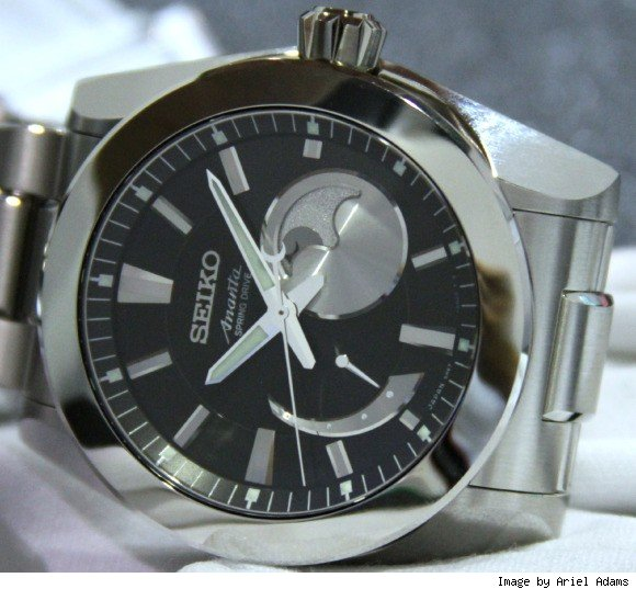 Seiko Ananta Spring Drive Moon Phase