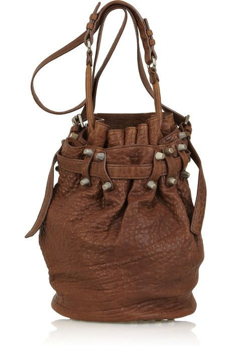 Alexander Wang Diego Leather Bucket Bag