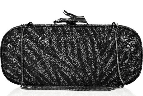 Diane Von Furstenberg Stingray-Effect Clutch