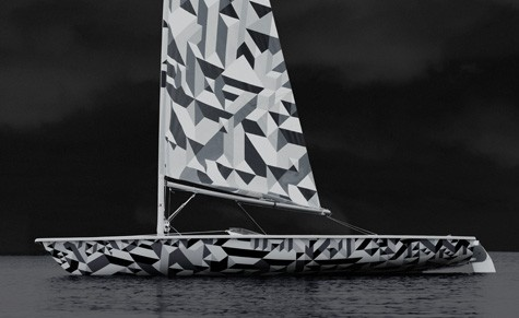 Wallpaper's Laser Sailboat