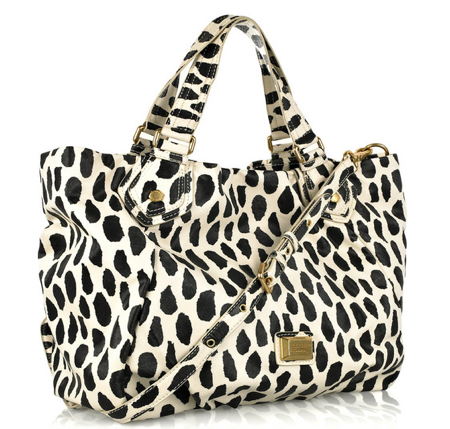 animal print tote