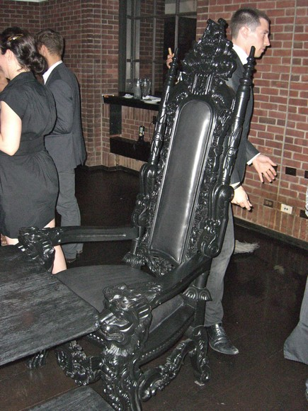 Ornate Chair