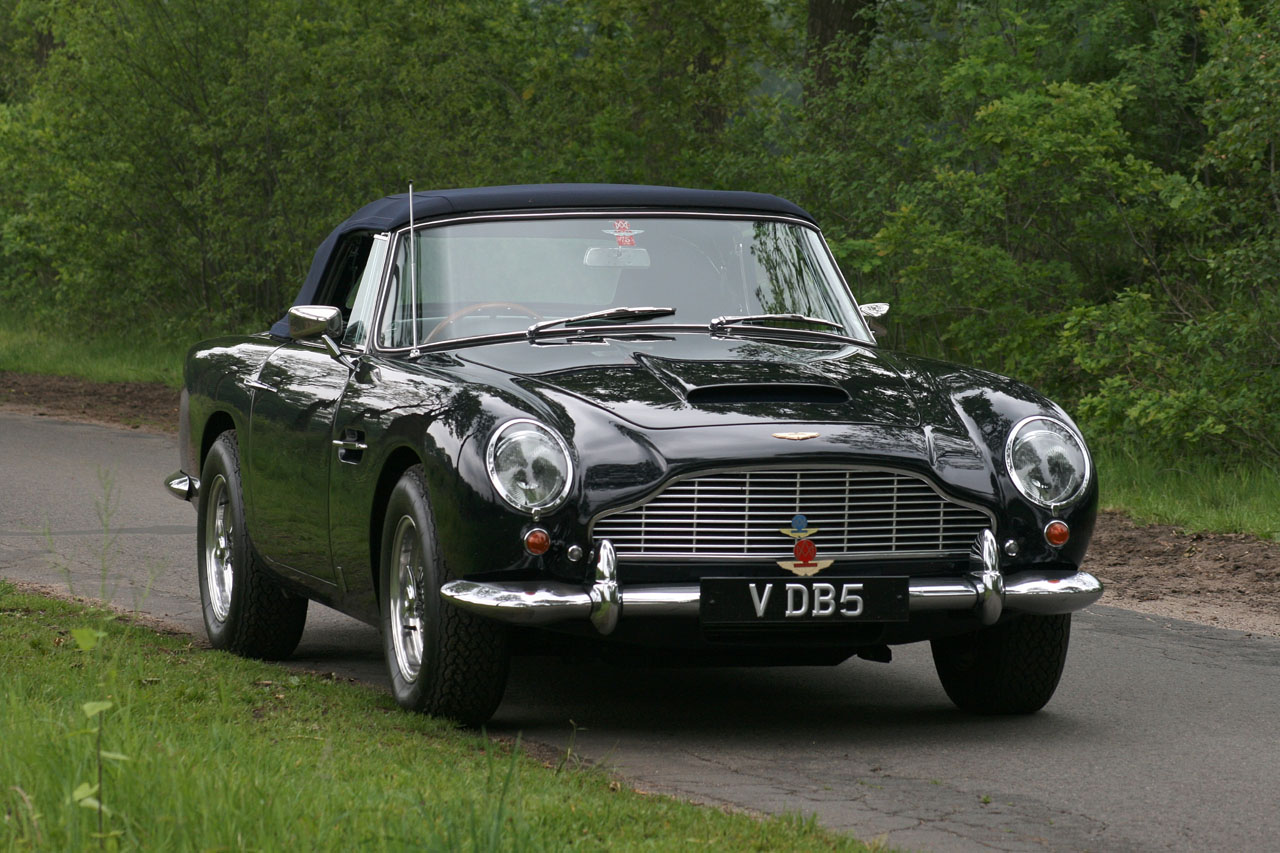 1965 Aston Martin DB5 Vantage Convertible (Photos) - Luxist