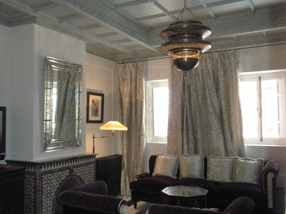 Inside One of the Private Riads