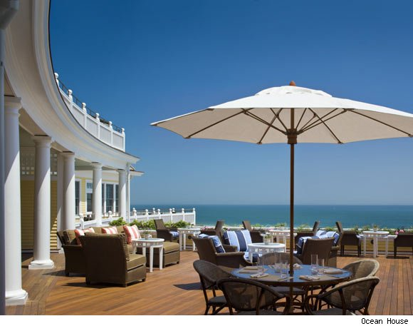Ocean House deck