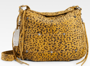 Botkier Leopard Suede Bag