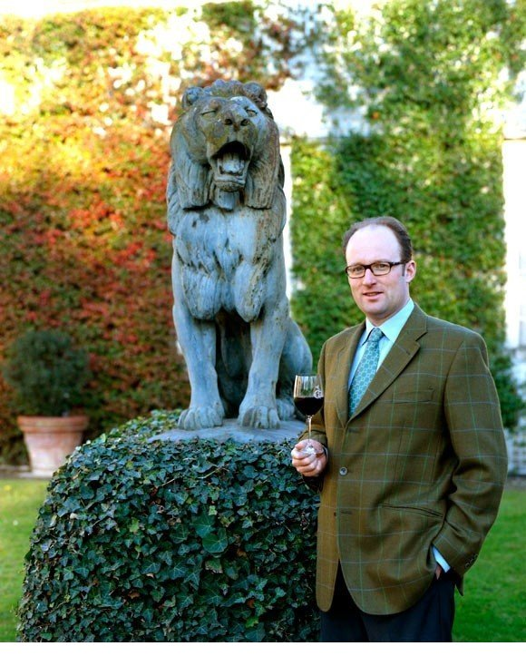 Prince Robert of Luxembourg, managing director of Domaine Clarence Dillon