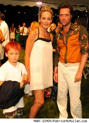 sharon stone and rufus wainwright
