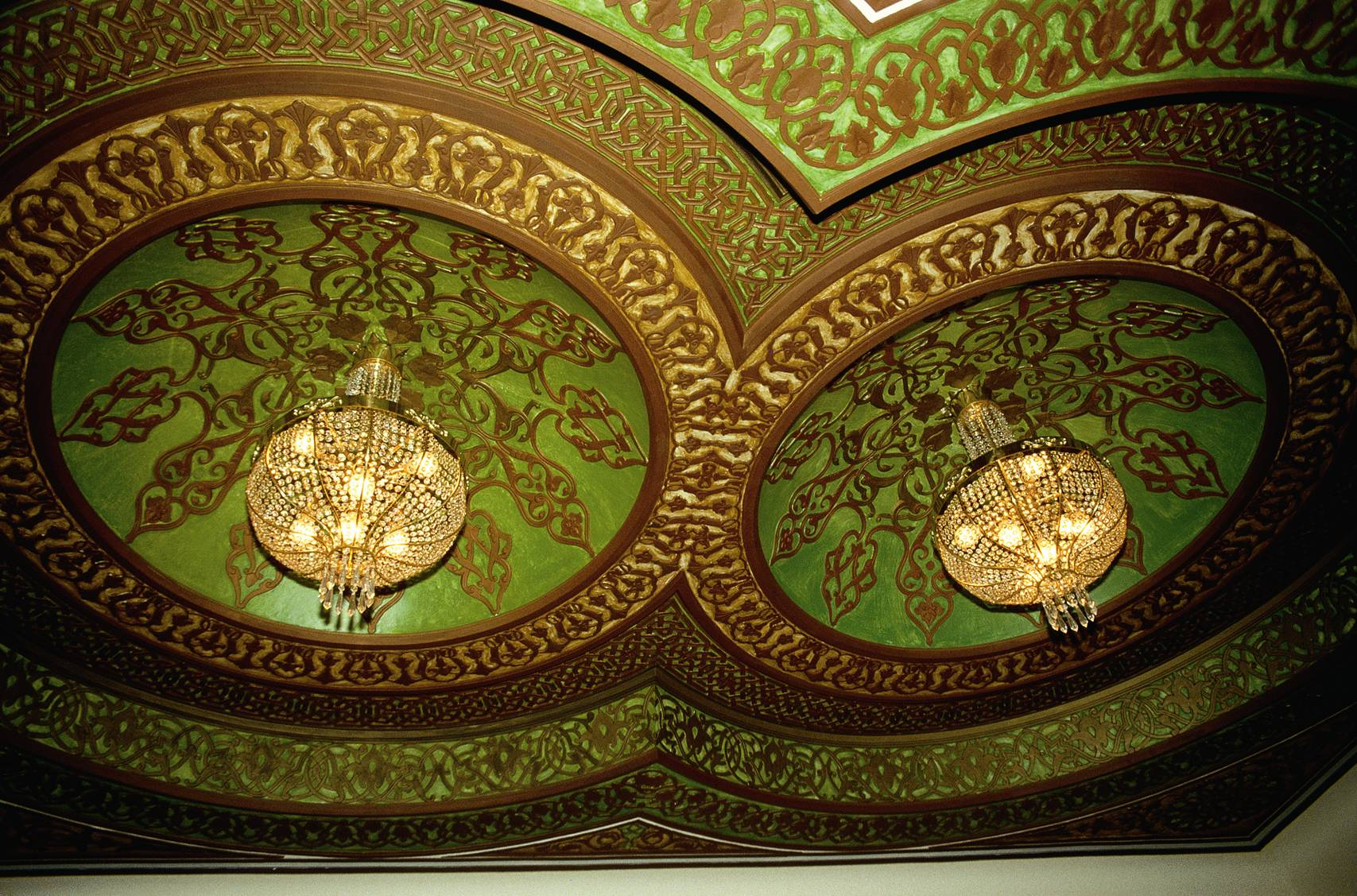 The Indian Suite with Filigreed Ceiling