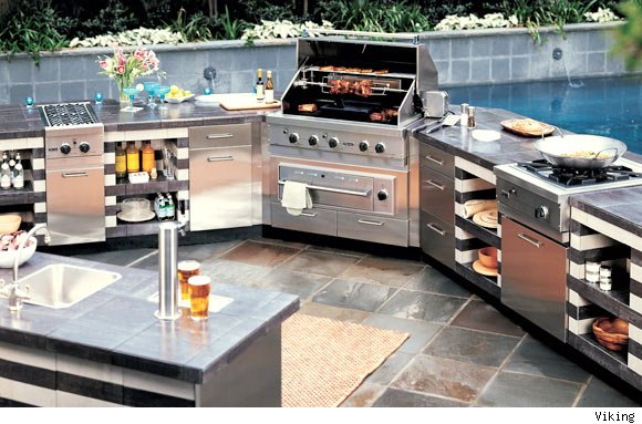 Gs4 security best grills for Viking outdoor kitchen