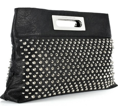 Thomas Wylde Studded Leather Clutch