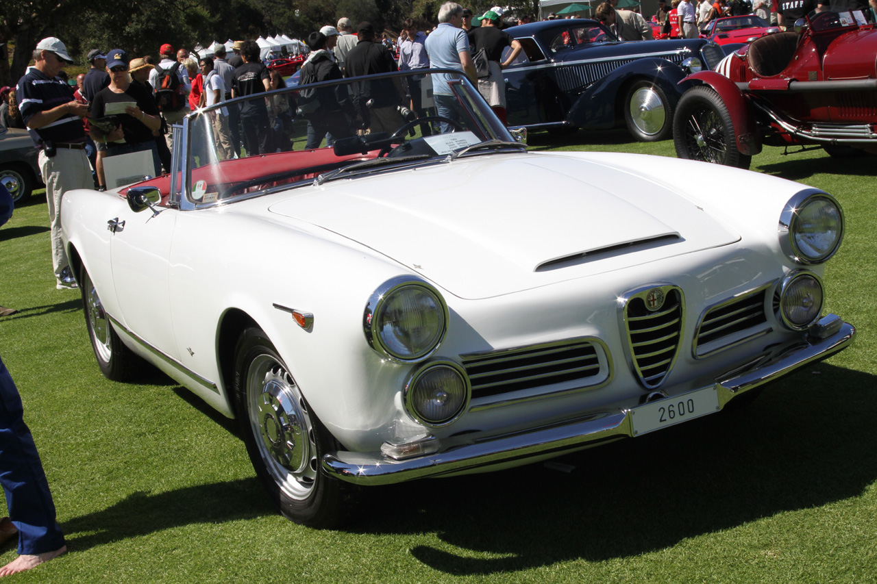 1964 Alfa Romeo 2600 Spider