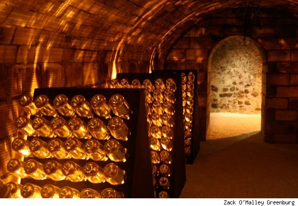 Luxist visits Champagne Cattier in Chigny-les-Roses, France.