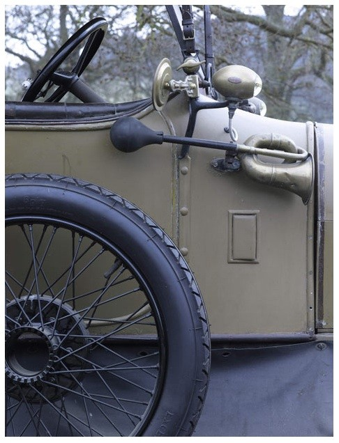 A Humber open touring four-seater car, 1914, Delivered by Humber to the Cavendish Motor Company in the summer of 1915