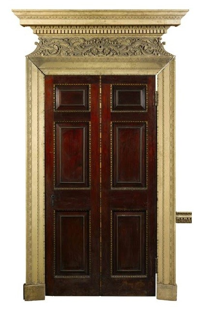 A door from the Dining Room of Devonshire House, est. �8,000-12,000
