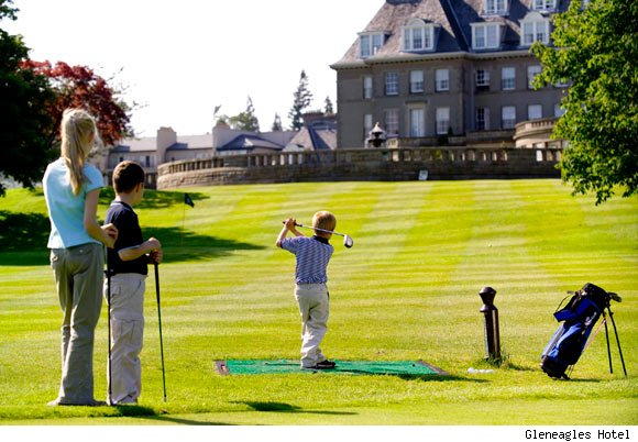 Scottish Pursuits at Gleneagle Hotel in Scotland