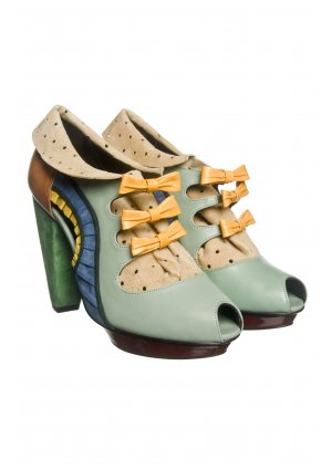 Kron by KronKron Pastel Blue Booties