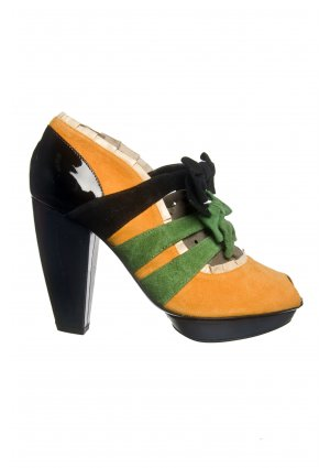 Kron by KronKron Orange Pumps