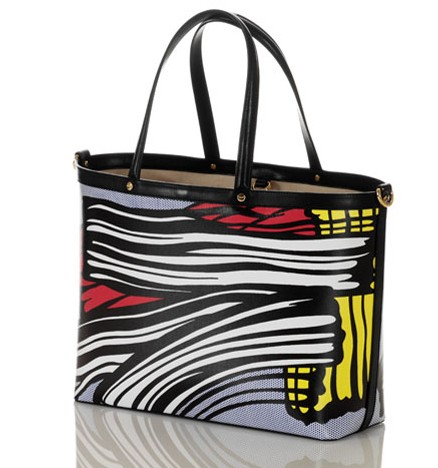 Borbonese & Lichtenstein Little Big Painting Tote