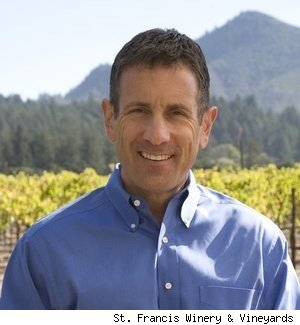 Chris Silva, CEO and president of St. Francis Winery &amp; Vineyards in Sonoma