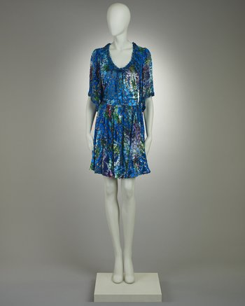 Mr Blackwell Couture Silk Dress