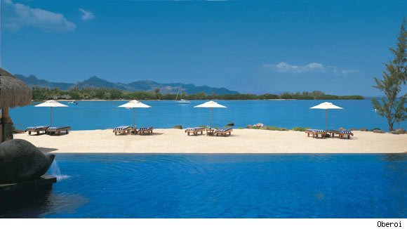 The Oberoi Mauritius is known for its beautiful beach