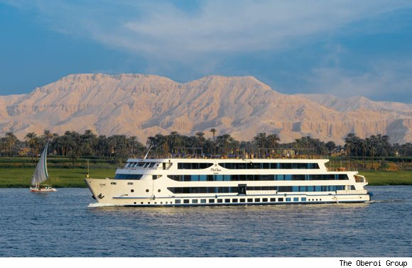 The Oberoi Zahra, Luxury Nile Cruiser