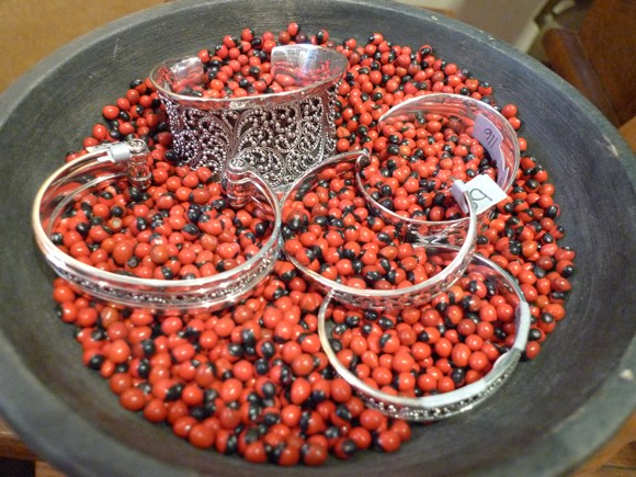 Bracelets in Berries