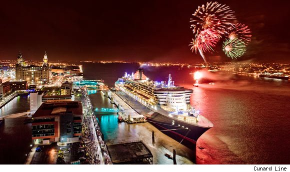 Cunard's Queen Mary 2 is a nominee for best cruise ship.