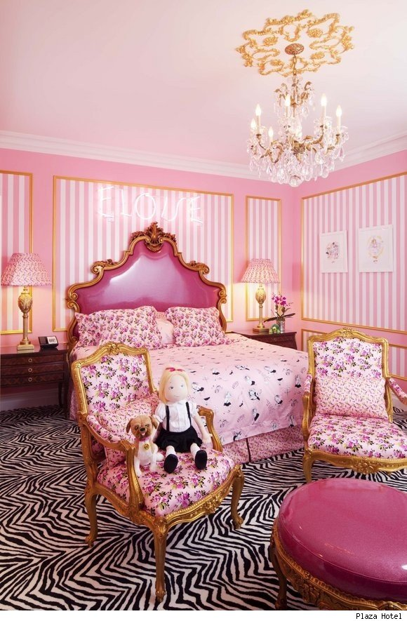 Plaza Hotel Debuts the Eloise Suite Designed by Betsey Johnson