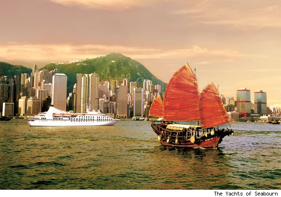 The Yachts of Seabourn's Fabled Far East Cruise