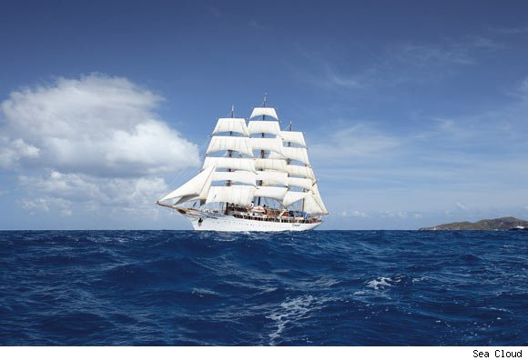 Sea Cloud's luxury cruise to Turkey and Greece