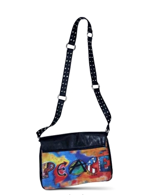 The Peace Bag in Black ($75)