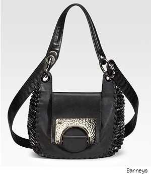 Diane von Furstenberg Piper Laced Leather Bag