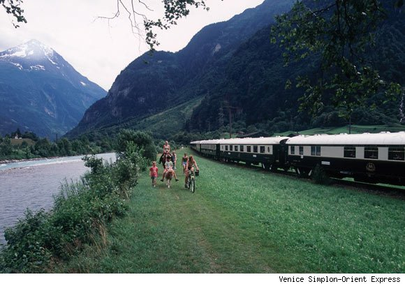 Luxury Train Travel Through Europe on the Venice Simplon-Orient Express.