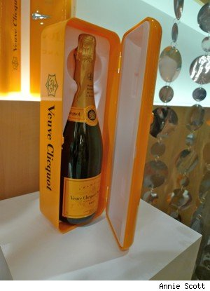 Veuve Clicquot Mini Fridge