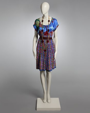 Yves Saint Laurent Couture SIlk Dress