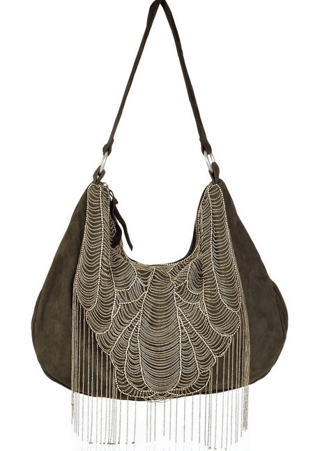Antik Batik Anka Suede Shoulder Bag