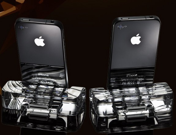 iPhone Dock by Calypso Crystal