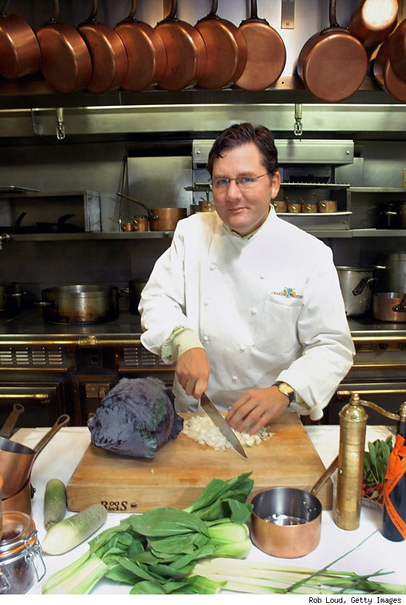 Chef Charlie Trotter at Charlie Trotter's