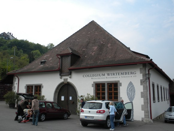 A Winery within Stuttgart City Limits